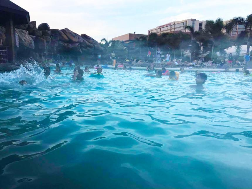 Westown Lagoonのスイミングプール