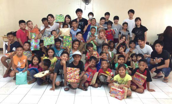 孤児院訪問とセブ市内観光
